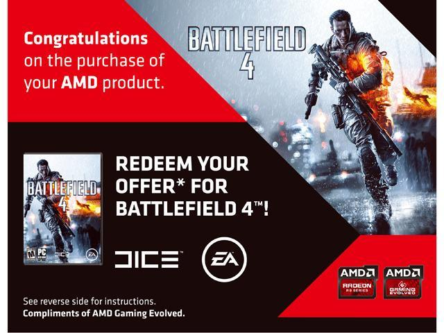 PowerColor Gift - Battlefield 4 Coupon
