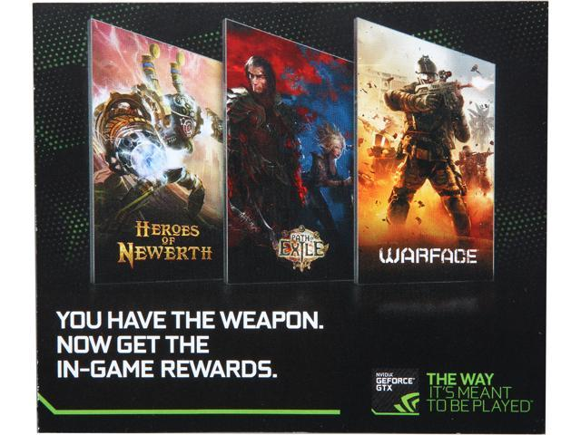 NVIDIA $150 In-Game for Warface, Path of Exile, and Heroes of Newerth