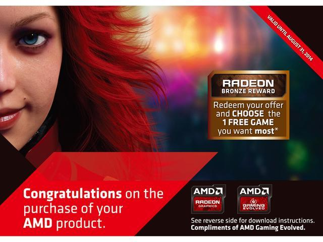 AMD Gift - BRONZE 1 GAME 2014 (Up to $50 Retail Value)