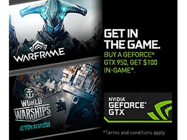 NVIDIA Gift - Warframe and World of Warships