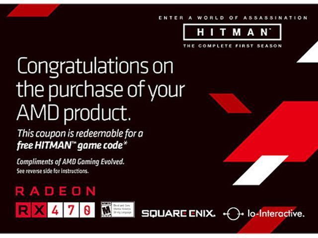 AMD HITMAN