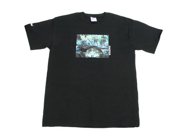 G.SKILL Sniper Gaming Series T-shirt  (Color: Black, Size: Large)