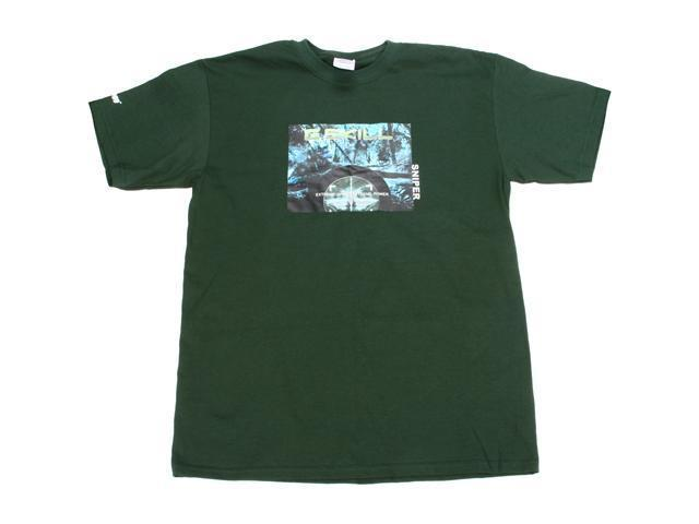 G.SKILL Sniper Gaming Series T-shirt  (Color: Green, Size: Extra Large)