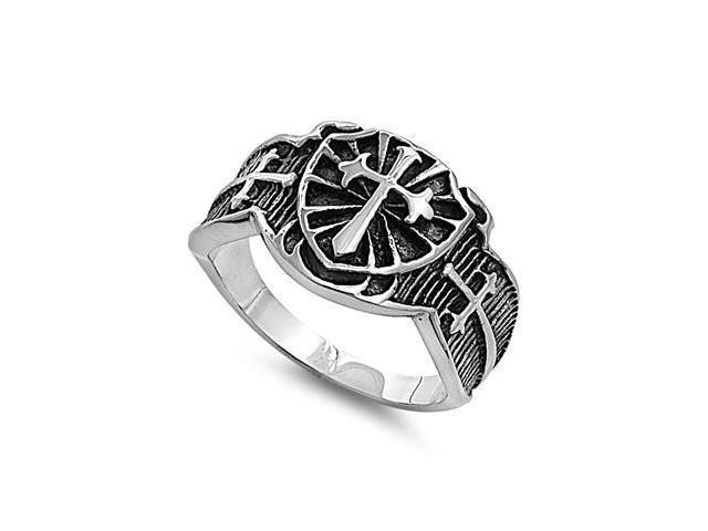 Stainless Steel Casting Ring - 3 Cross