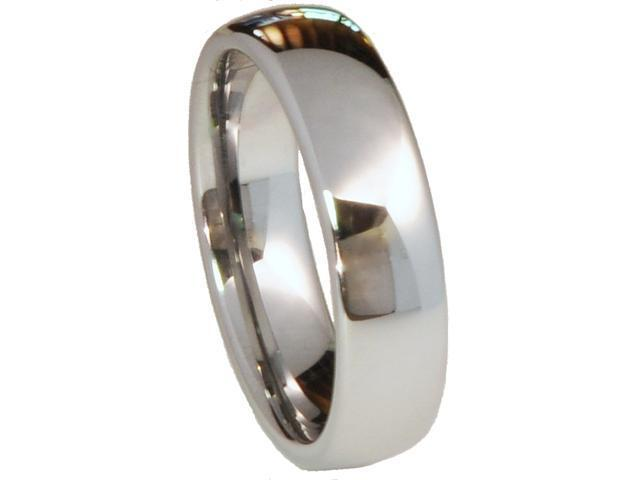 Tungsten Carbide  Dome Shaped Ring
