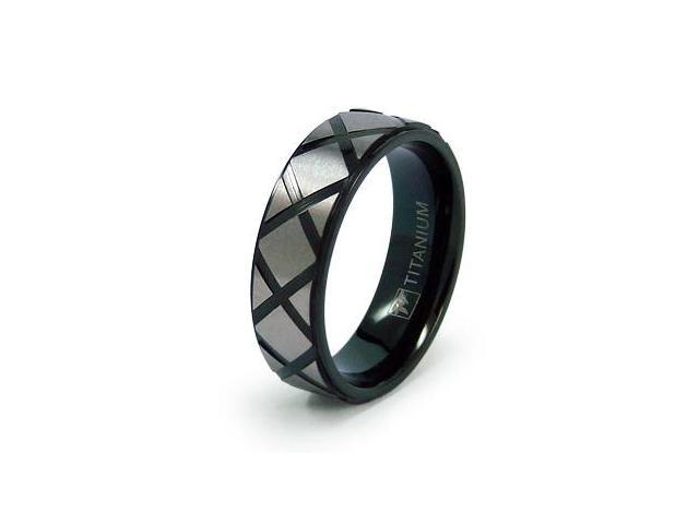 8mm Titanium Men's Wedding Ring