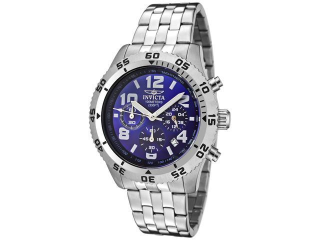 Invicta Specialty Chronograph Tachymeter Stainless Steel Mens Watch 1489