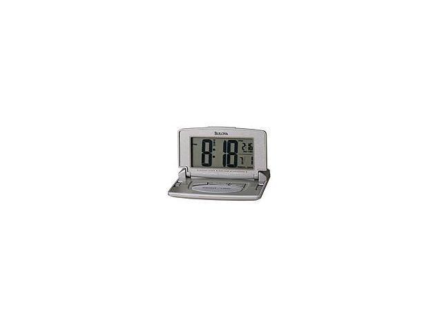 Bulova  Avant II Home and Office Grey Digital Dial Alarm Clock #B6943