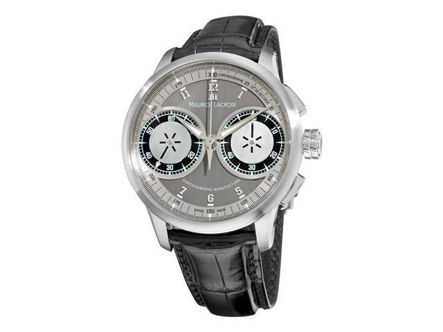 Maurice Lacroix Masterpiece Le Chronographe Mens Mechanical Watch MP7128-SS001-320