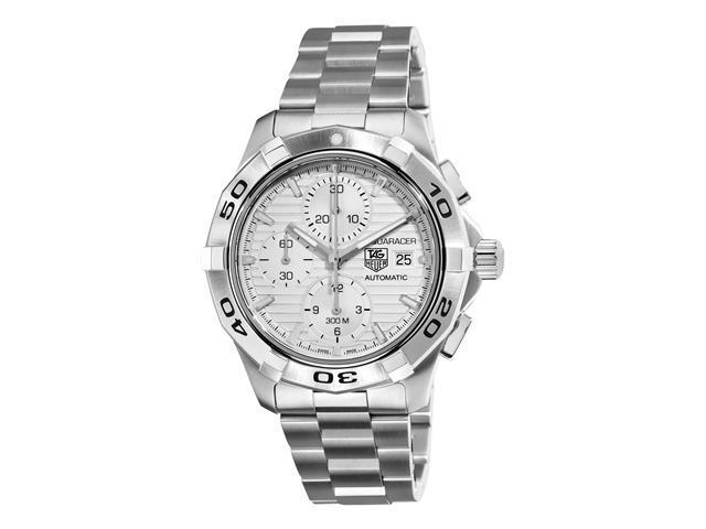 Tag Heuer Aquaracer Automatic Silver Dial Chronograph Mens Watch CAP2111.BA0833