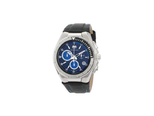 Technomarine Steel Regular Chronograph Blue Dial Mens Watch 110003L