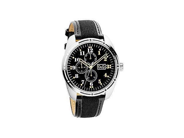 D&G Dolce & Gabbana Bariloche Multifunction Black Dial Men's watch #DW0640