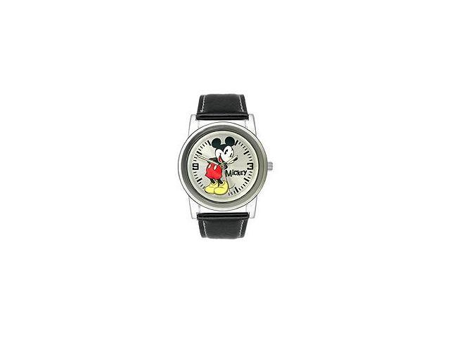 Disney Mickey Mouse Silver Dial Men's watch #MCK611