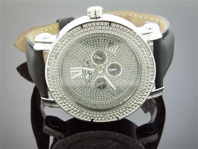 New King Master Round 12 Diamonds 50MM Round Watch