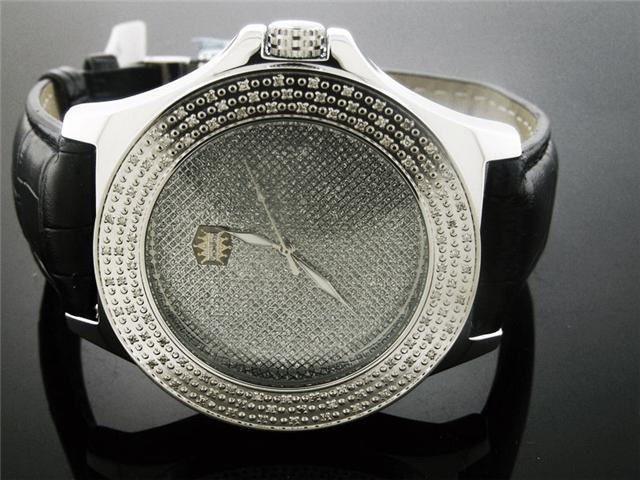 New Crown Master Round 100 Diamonds 50MM Watch