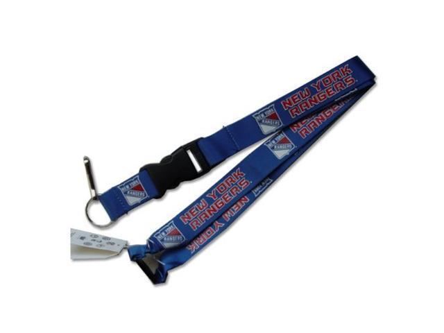 New York Rangers Clip Lanyard Keychain Id Holder Ticket