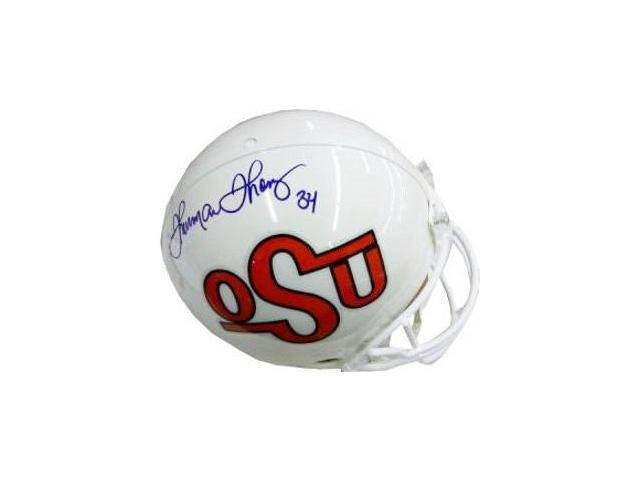 Thurman Thomas signed Oklahoma State Cowboys Full Size Authentic Helmet