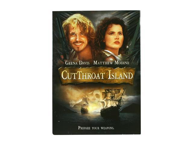 Cutthroat Island (DVD / WS / ENG) Geena Davis; Matthew Modine; Frank Langella; Maury Chaykin; Patrick Malahide; Stan Shaw; Rex Linn; Paul Dillon; Chris Masterson; Jimmie F. Skaggs