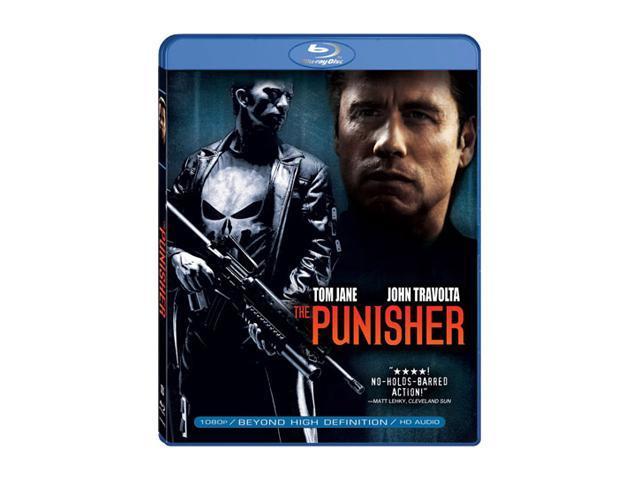The Punisher (Blu-Ray / WS / ENG / ENG SUB / SPAN SUB / 5.1) Thomas Jane, John Travolta, Samantha Mathis, Laura Harring, ...