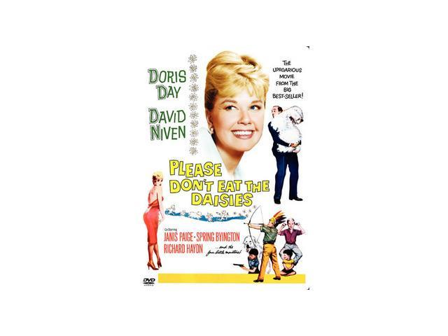 Please Don't Eat The Daisies Doris Day, David Niven, Janis Paige, Spring Byington, Richard Haydn, Patsy Kelly, Jack Weston, Margaret Lindsay