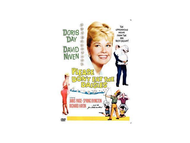 Please Don't Eat The Daisies Doris Day, David Niven, Janis Paige, Spring Byington, Richard Haydn, Patsy Kelly, Jack Weston, Margaret Lindsay