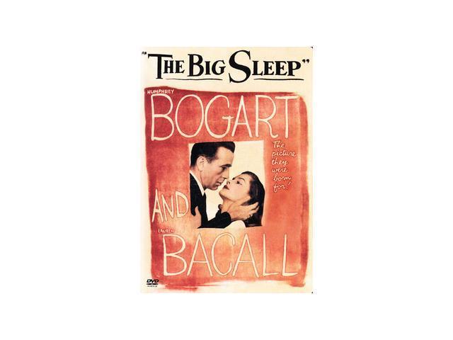 The Big Sleep Humphrey Bogart, Lauren Bacall, Martha Vickers, John Ridgely, Louis Jean Heydt, Elisha Cook Jr., Regis Toomey, Sonia Darren, Bob Steele, Tom Rafferty