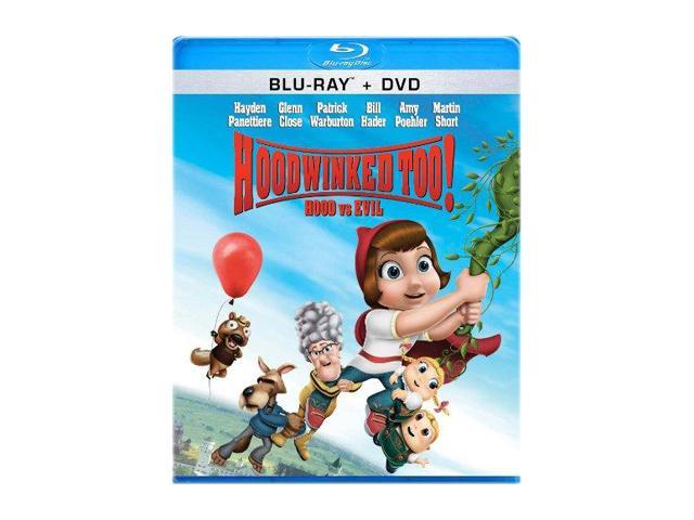 Hoodwinked Too: Hood vs. Evil (DVD + Blu-ray/WS) Hayden Panettiere (voice), Glenn Close (voice), Joan Cusack (voice), David ...