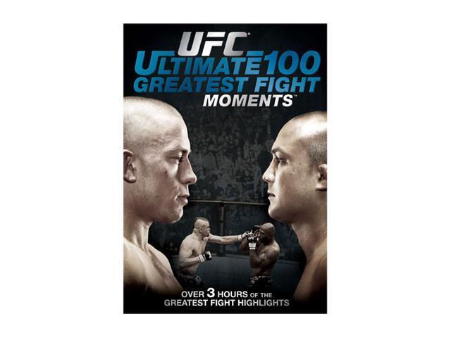 UFC: The Ultimate 100 Greatest Fight Moments (DVD / WS) Chuck Liddell, Tito Ortiz, Matt Serra, Randy Couture, Brock Lesnar