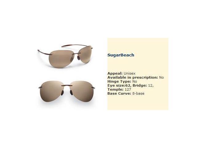 Maui Jim Sunglasses Sugar Beach 421
