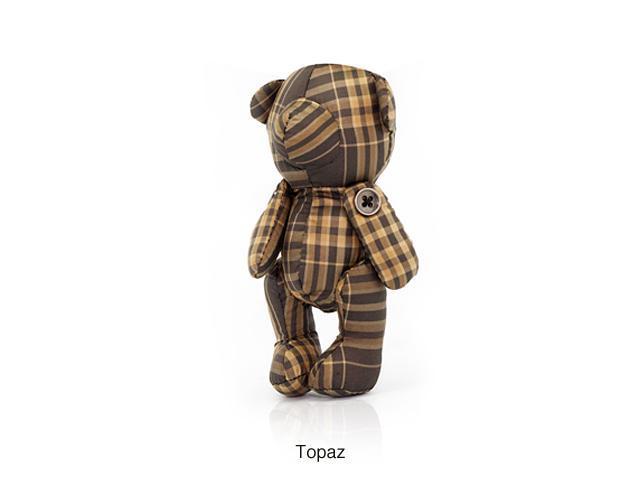 CZX Inc Thomascrown E011PML004 Mini Bear Lip Balm Bag - Brown
