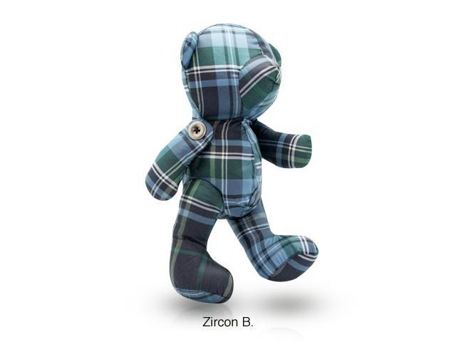 CZX Inc Thomascrown E011PBT003 Bear Convertible Tote Bag - Blue