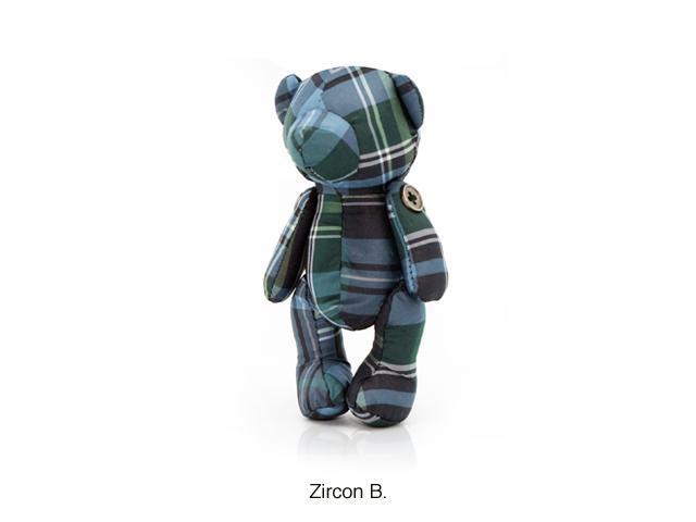 CZX Inc E011PMB003 Thomas Crown Mini Bear Tote Bag - Blue