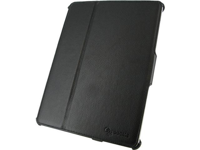 roocase Slim-Fit Folio Case for Apple iPad Generations 2, 3 & 4 /RC-IPD3SF-BK