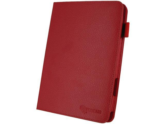 roocase Dual-View Leather Case for Apple iPad Mini 3, 2 & 1 /RC-IPDMINI-DV-RD