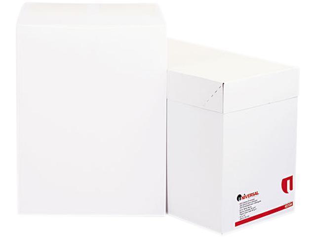 Universal 45104 Catalog Envelope  Side Seam  10 x 13  White  250/box