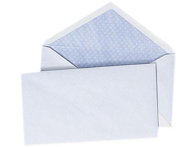 Universal 35204 Security V-Flap Envelope- 3 5/8 x 6 1/2- White- 250/Box