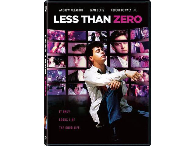 Less Than Zero Andrew McCarthy, Jami Gertz, Robert Downey Jr., James Spader, Michael Bowen, Nicholas Pryor, Tony Bill