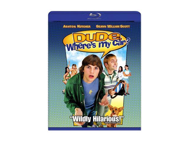 Dude Where's My Car (Blu-Ray / AC-3 / Dubbed / SUB / WS) Ashton Kutcher, Seann William Scott, Jennifer Garner, Marla Sokoloff, ...