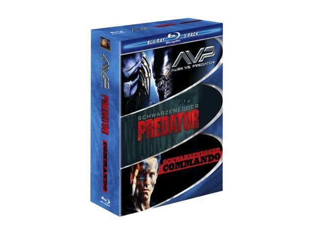 Muscle Blu-ray 3-Pack (AVP Alien vs. Predator / Predator / Commando) (WS)