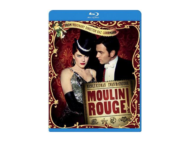 Moulin Rouge (Blu-ray / WS) Nicole Kidman, Ewan McGregor, John Leguizamo, Jim Broadbent, Richard Roxburgh