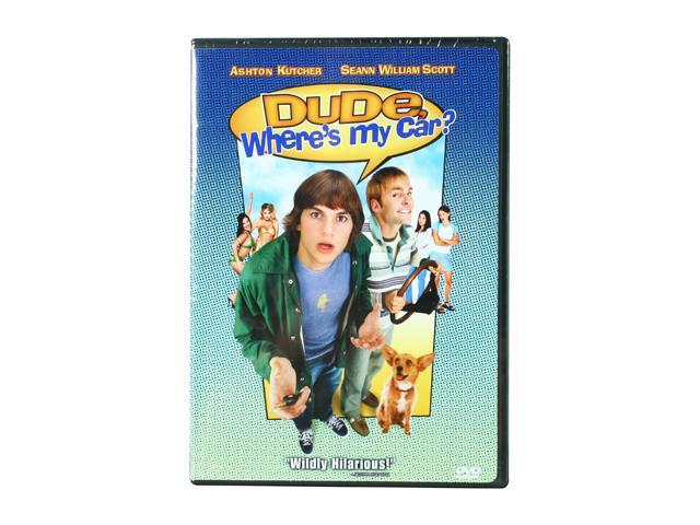 Dude, Where's My Car? (DVD / WS / Sensormatic) Ashton Kutcher; Seann William Scott; Jennifer Garner; Marla Sokoloff; Kristy Swanson; Hal Sparks; Brent Spiner; Fabio; Kevin Christy; Bob Clendenim