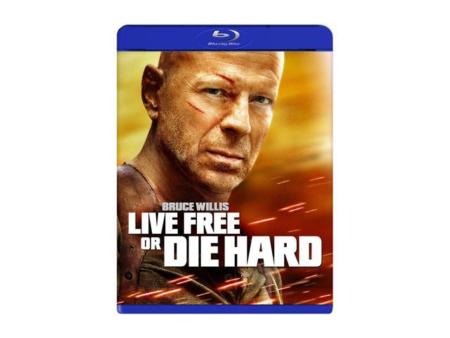 Live Free or Die Hard (Blu-ray/FS) Bruce Willis, Timothy Olyphant, Justin Long, Maggie Q, Cliff Curtis