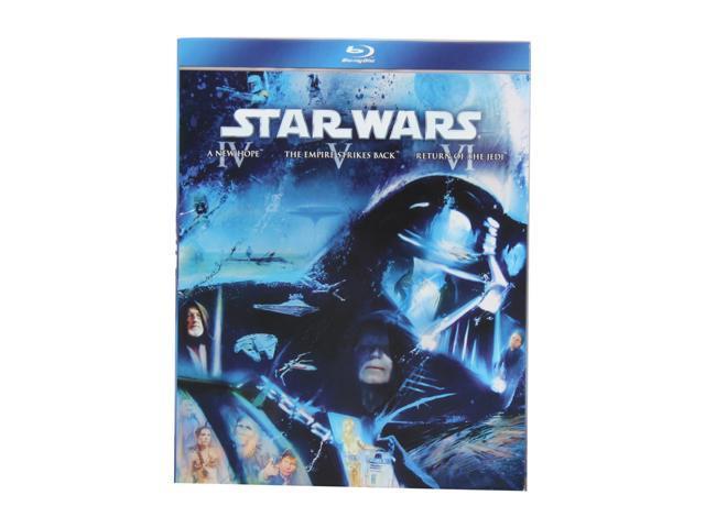 Star Wars: The Original Trilogy (Episodes IV - VI) (Blu-ray / 1977) Mark Hamill, Harrison Ford, Carrie Fisher