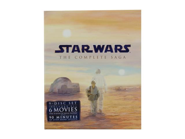 Star Wars: The Complete Saga (Episodes I-VI) (Blu-ray / 1977) Mark Hamill, Hayden Christensen, Harrison Ford
