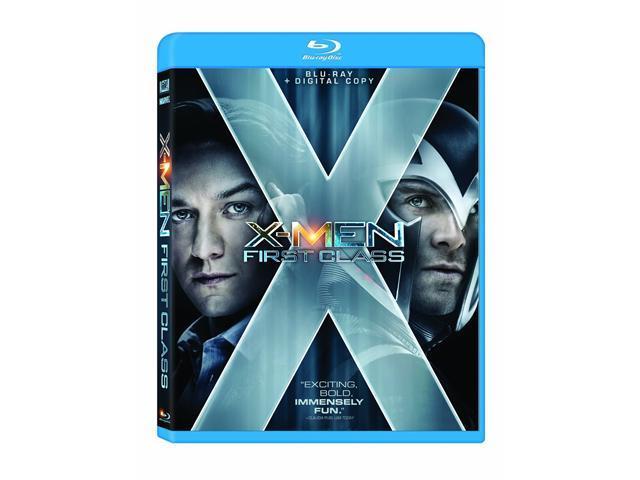 X-Men: First Class (+Digital Copy) [Blu-ray] (2011)