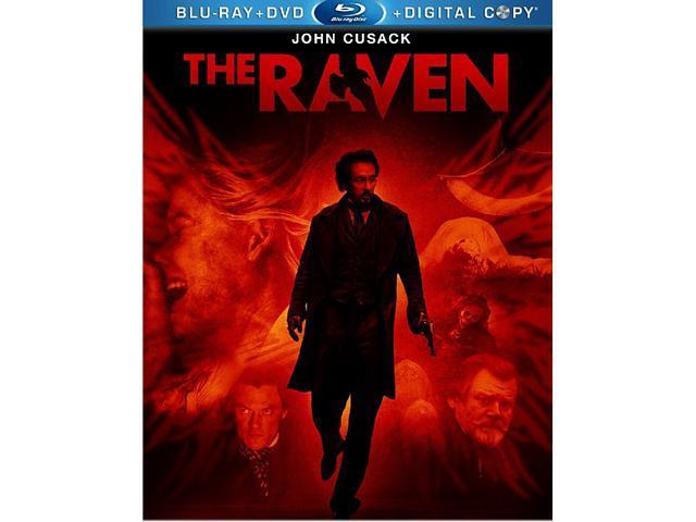 The Raven (DVD + Digital Copy + Blu-ray) John Cusack, Luke Evans, Alice Eve, Brendan Gleeson, Pam Ferris