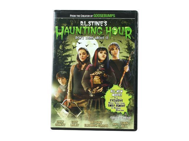 RL Stine's The Haunting Hour: Don't Think About It (DVD / FF / DOL DIG 5.1) Emily Osment; Cody Linley; Brittany Curran; Tobin Bell; Alex Winzenread; Michelle Duffy; John Hawkinson; Colleen Dengel; Kat