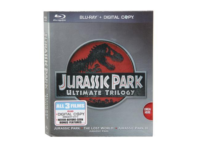 Jurassic Park Trilogy (Ultimate Edition Blu-ray/WS) Sam Neill, Laura Dern, Jeff Goldblum, Julianne Moore, Pete Postlethwaite