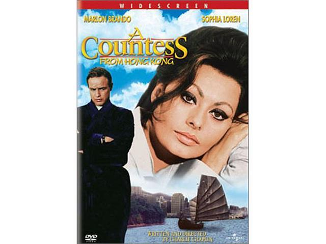 A Countess From Hong Kong Marlon Brando, Sophia Loren, Tippi Hedren, Sydney Chaplin, Patrick Cargill, Michael Medwin, Oliver ...
