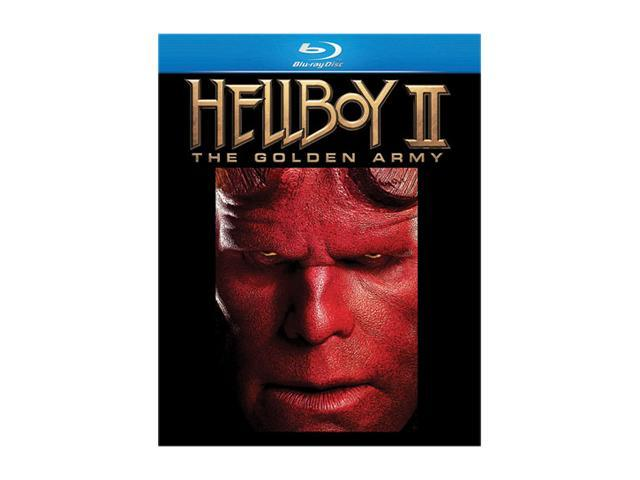 Hellboy II:Golden Army (Blu-Ray / ENG SDH / SPAN / FREN / DTS-HD / 2DISCS) Ron Perlman; Selma Blair; Doug Jones; Luke Goss; Anna Walton; John Alexander; Seth MacFarlane (voice); John Hurt; Brian Steel